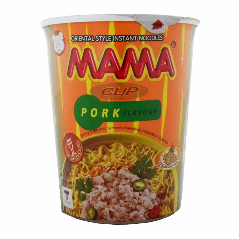 Nouilles intantanée aux porc - MAMA cup pork flavor- 70g