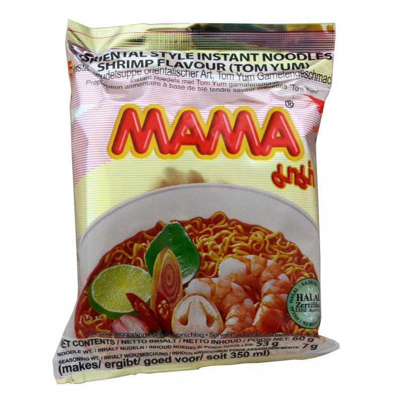 Nouilles TOM YUM goût crevette - MAMA - 60 g