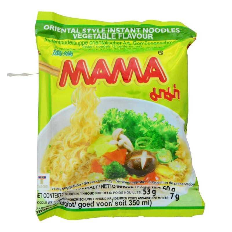 Nouilles au bouillon de légumes - MAMA - 60 g