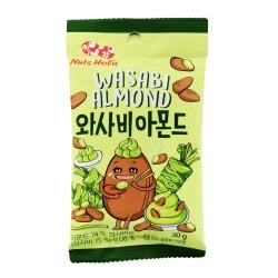 Amandes wasabi - Nuts Holic...