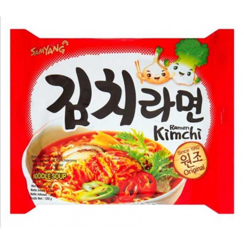 KIMCHI RAMEN : Nouilles Saveur Kimchi - 120g