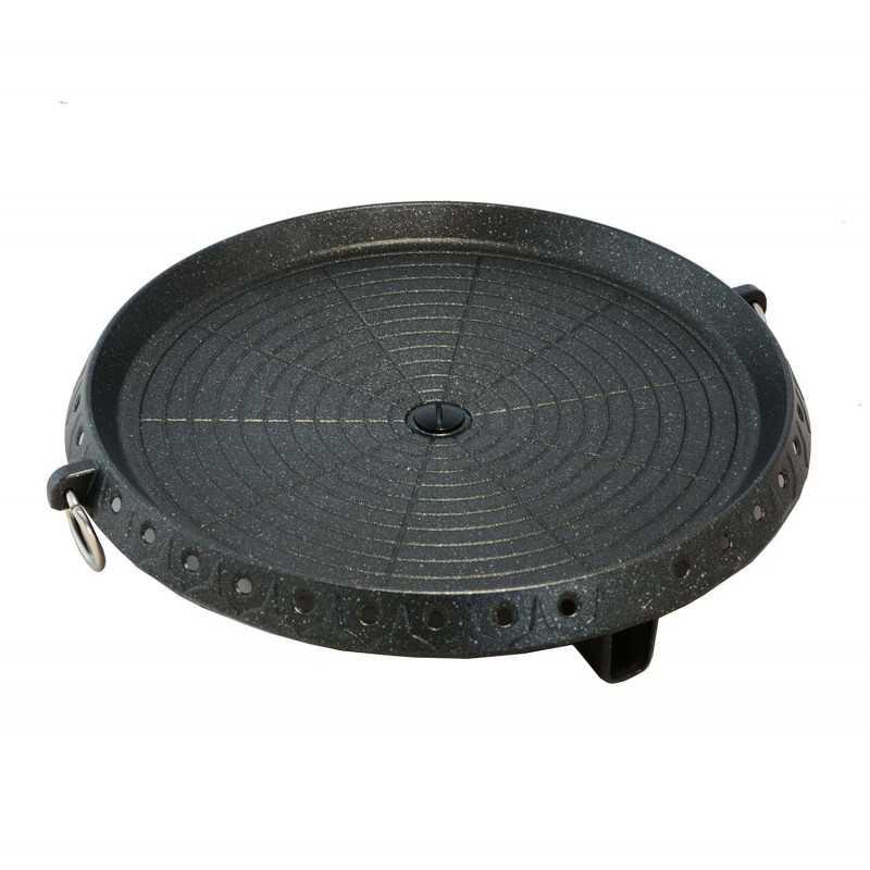 Plaque Barbecue Coréen Alu-platinium