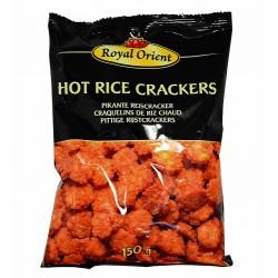 Hot rice crackers : Craqualins de riz piquants - 150g