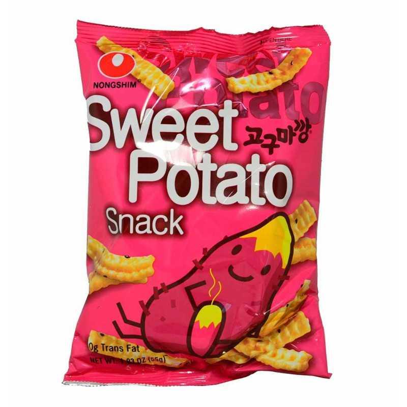 SWEET POTATO SNACKS : Chips sucrées de patate douce - 55g