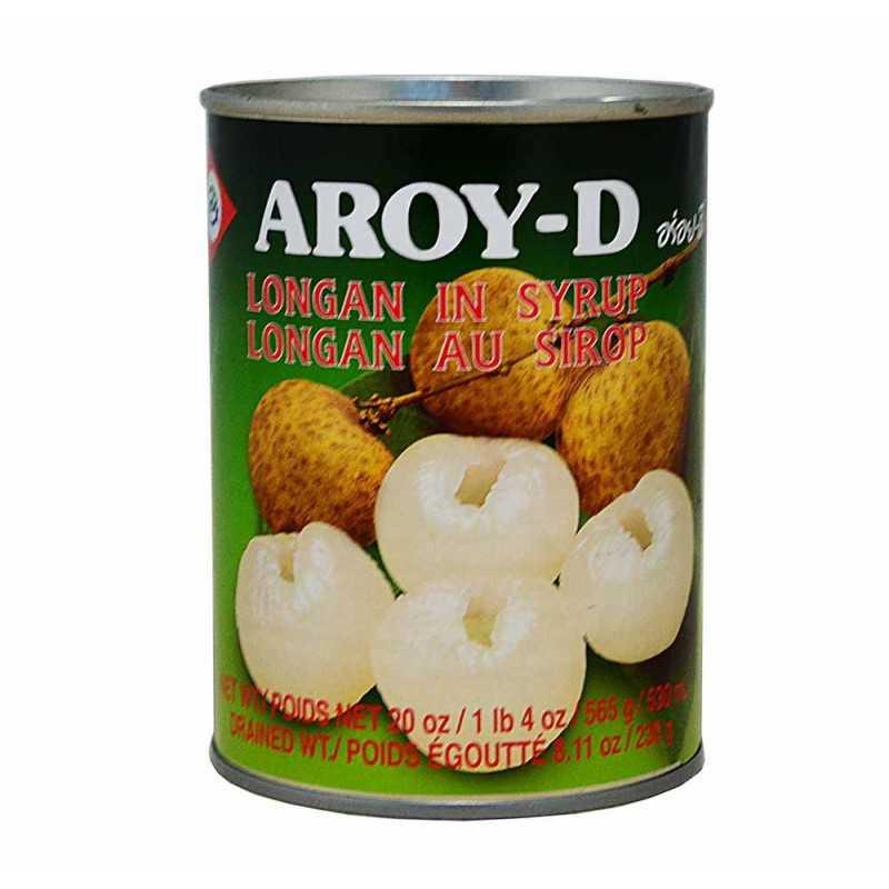 Longan au sirop - Aroy-D 565g