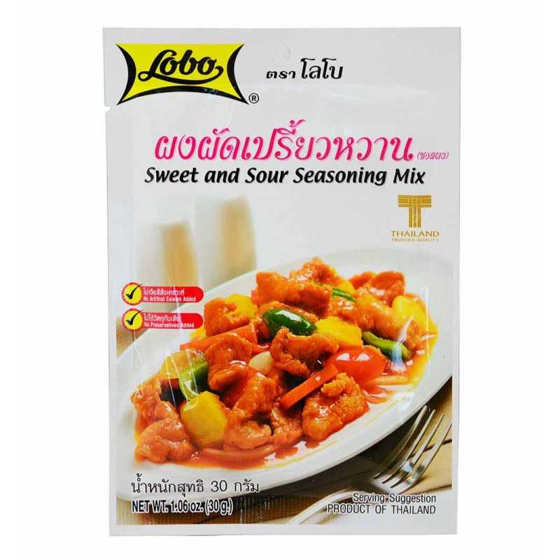 Sweet and sour seasoning mix (mélange sucré salé) - lobo 30g