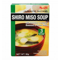 Shiro Miso Soupe - S+B 30g