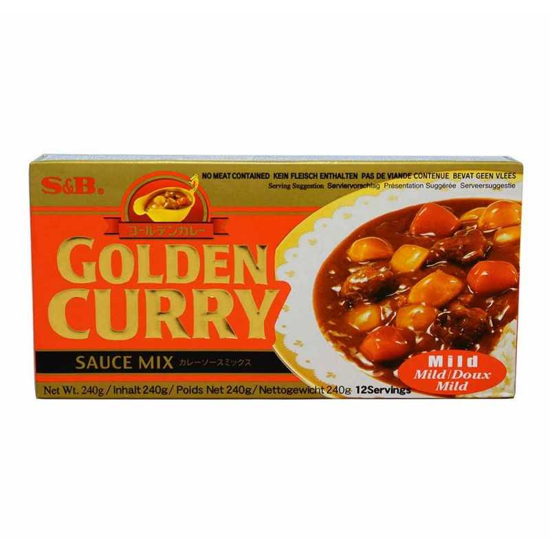 Golden Curry Medium - S&B - 240g (12 portions)
