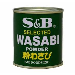 Poudre de Wasabi - S&B 30g