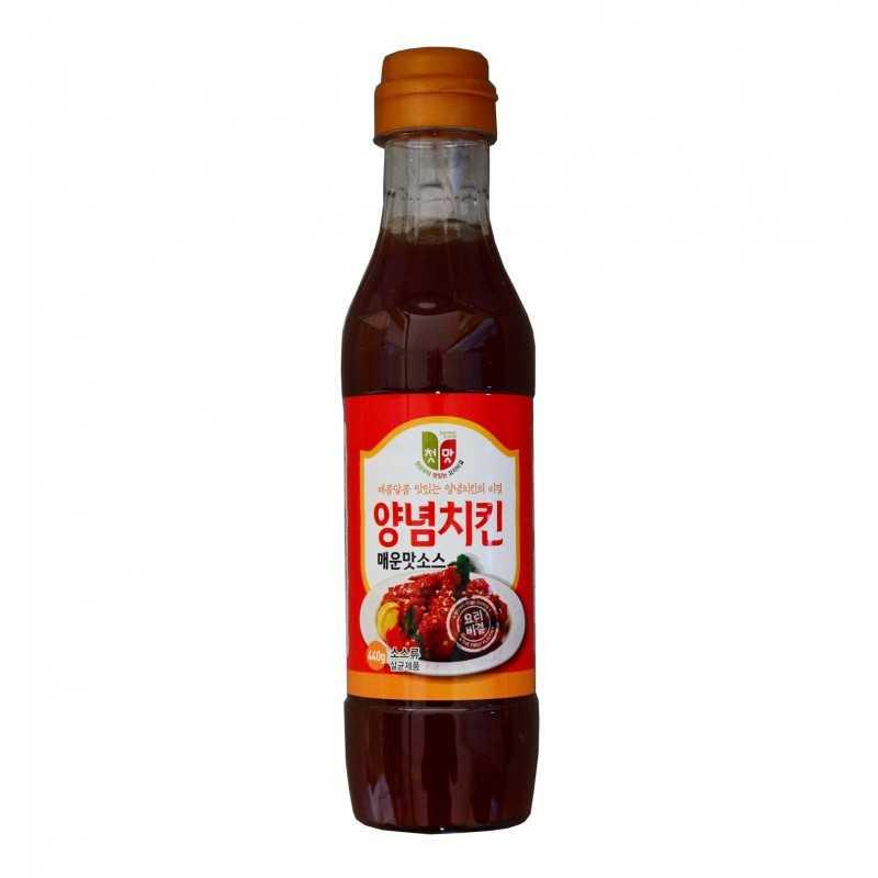 Sauce pour poulet frit (HOT) - Cheongu- 440g