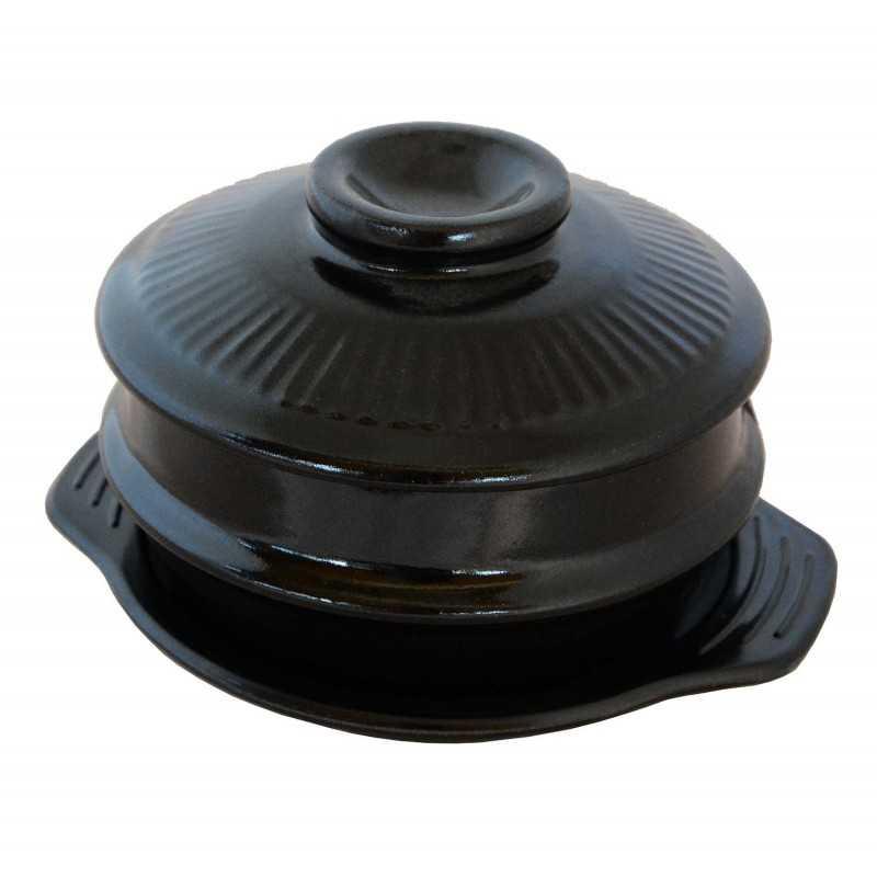 TTUKBAEGI -Pot en Terre Cuite Coréen - DIA 162 mm