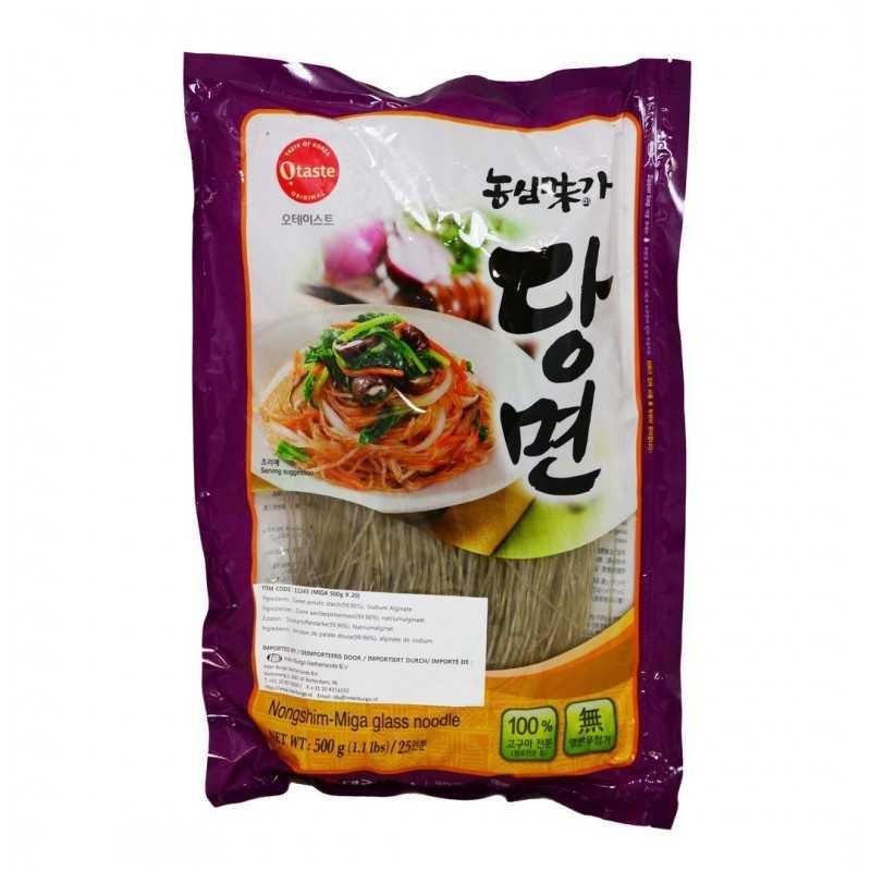 DANGMYEON : Nouilles de Patates Douces pour Japchae - 500 g