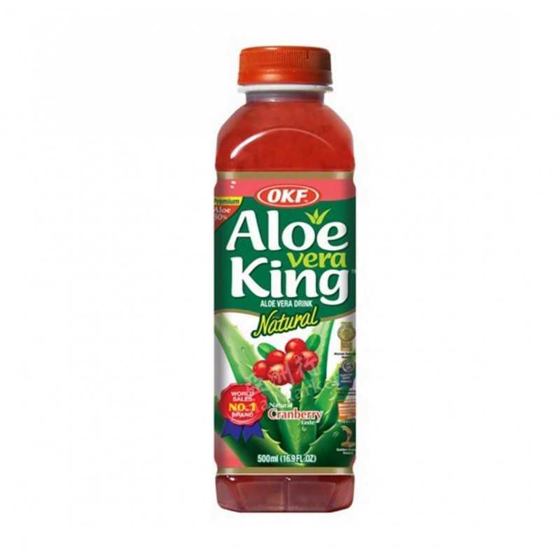 ALOE VERA KING Cranberry - 500ml
