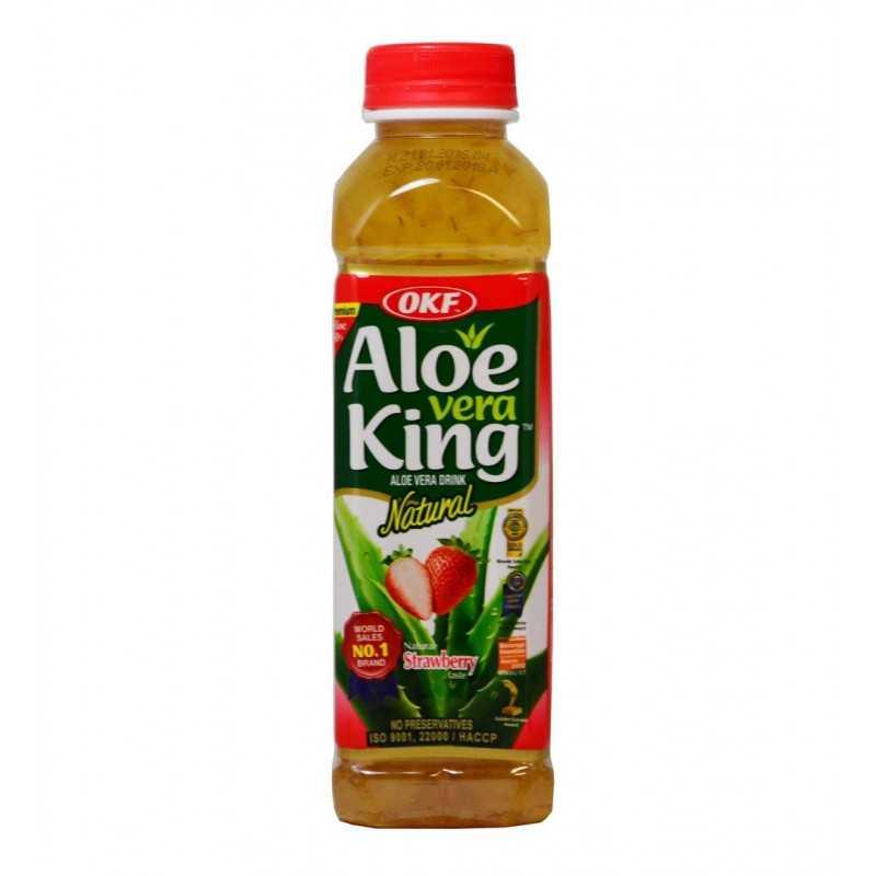 ALOE VERA KING Fraise - 500ml