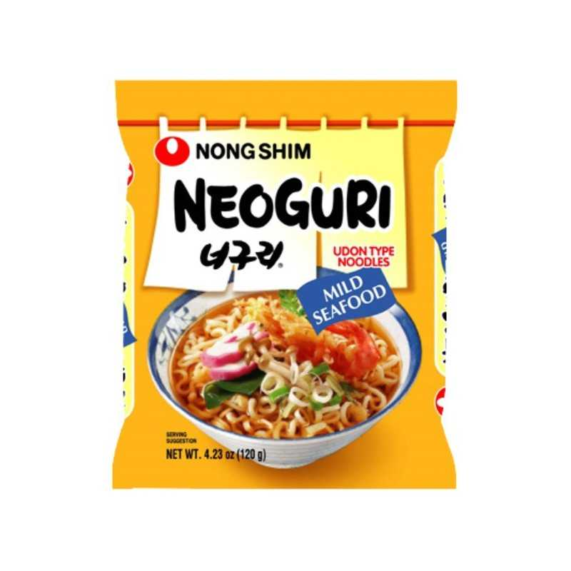 NEOGURI (HOT) Nouilles Fruits de Mers (Piquant) -120g