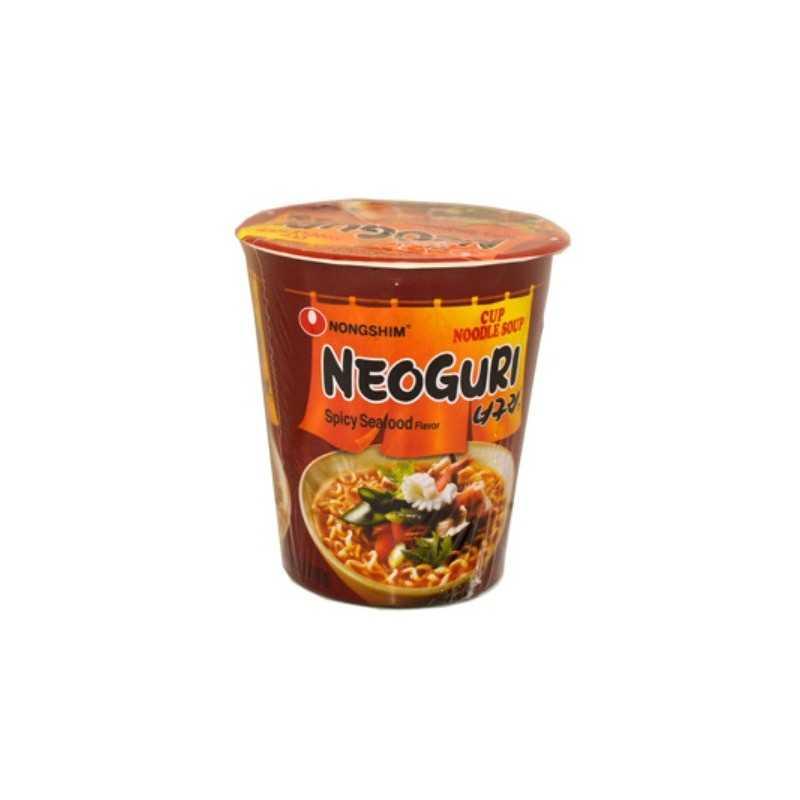 NEOGURI: Nouilles Fruits de Mers bol 62g