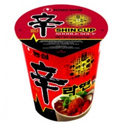 SHIN RAMEN CUP 75g : Nouilles Piquantes
