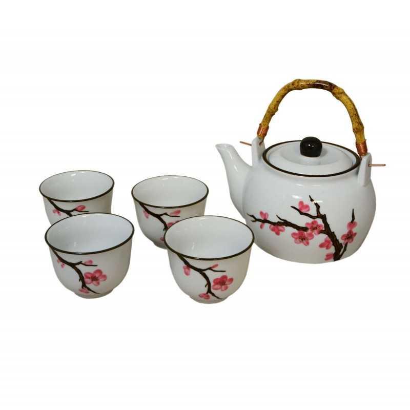 Service à thé - fleurs de cerisier