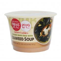 Riz et soupe d'algues miyeok guk - 165g