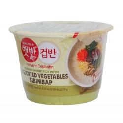 Riz et légumes - Bibimbap - 229g