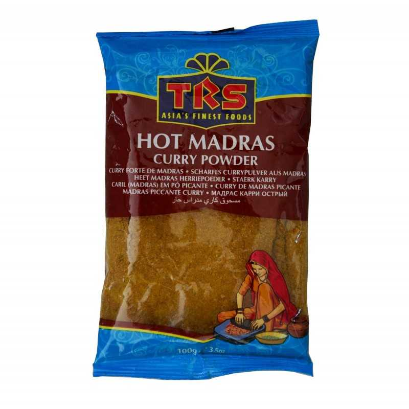 Hot Curry Madras - TRS 100g