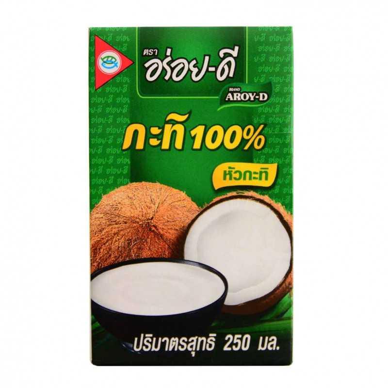 Lait de Coco UHR - Aroy-D 250 ml