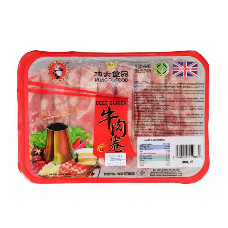 Viande à fondue : Boeuf Tranche 400 g