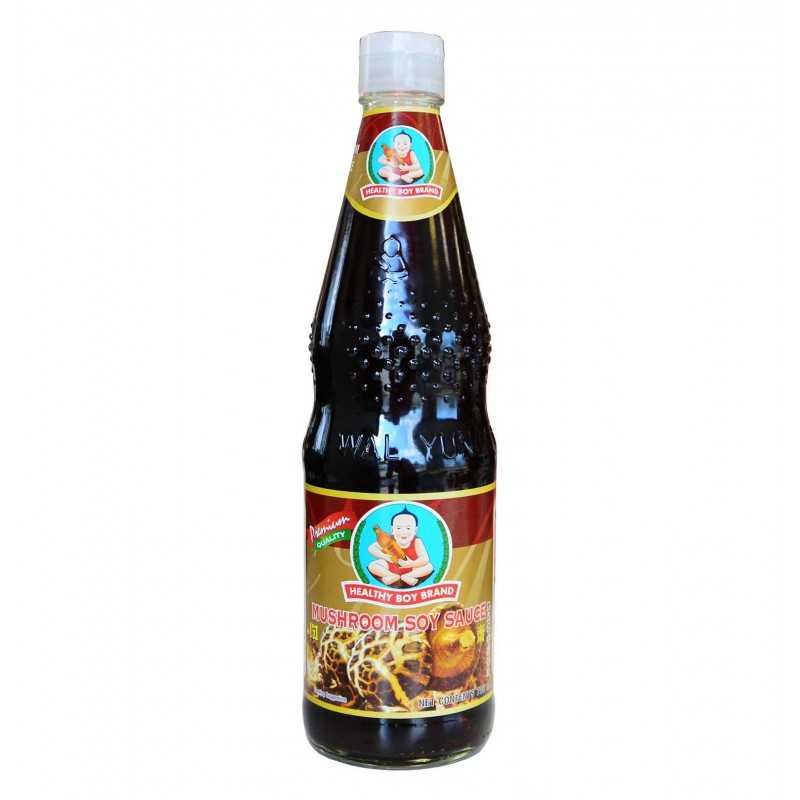 Sauce Soja et Champignons - Healthy Boy - 700 ml