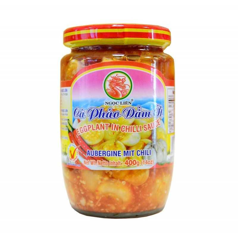 Aubergines au piments - Ngoc Lien - 400 g