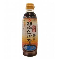 Sauce soja claire - 100 % soja - Sempio 500 ml