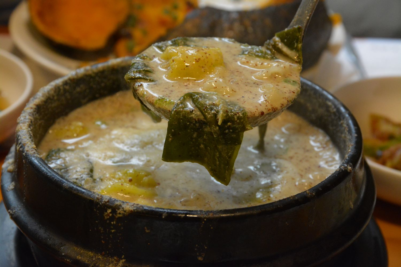 Soupe de sujebi en Corée