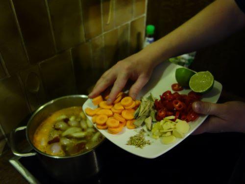 Ajouter les carottes
