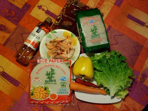 Recette de nems frtis sauce maison cuisine vietnamienne Nems vietnamiens