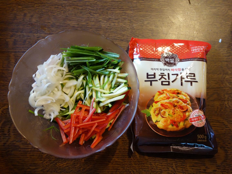coupez les légumes